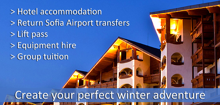 hotel ski packages in bansko