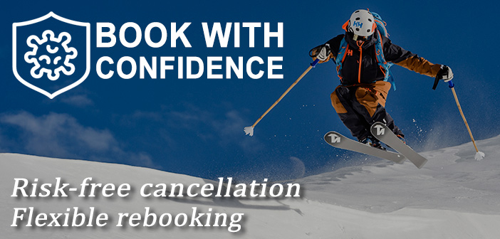 book ski package with confidence